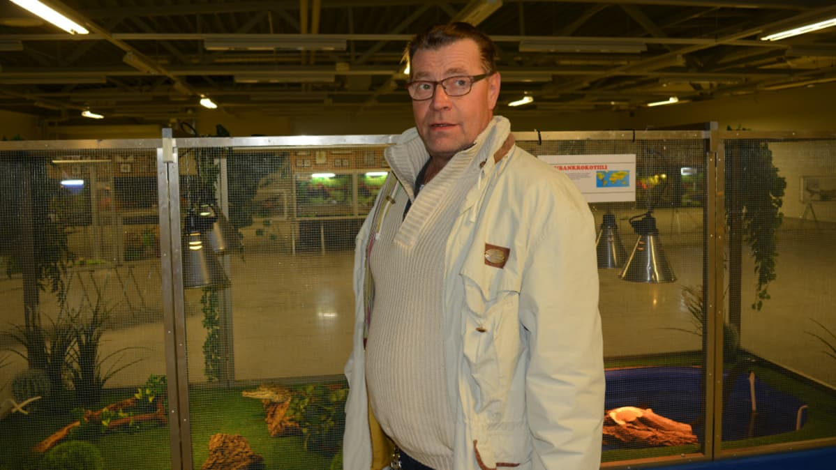 Keijo Eronen on perinyt matelijaliiketoimen isältään.