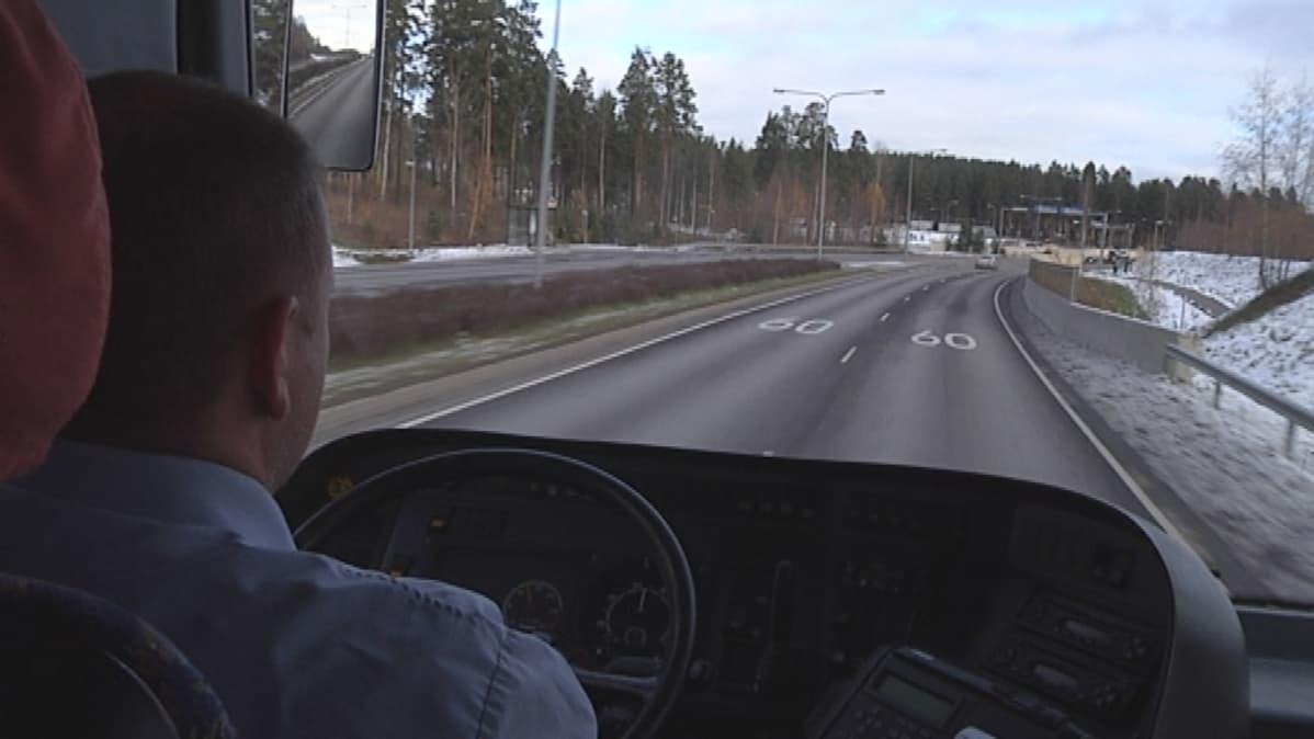 Bussikuski Jyväskylän liikenne Onnibus