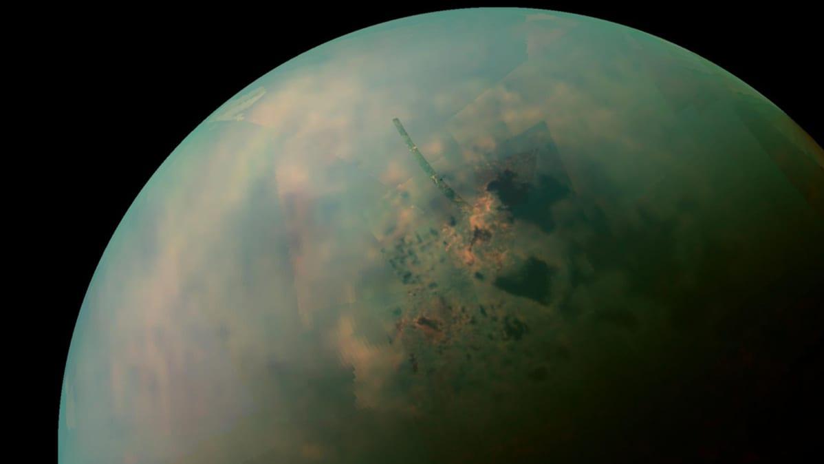 Nasan kuva Saturnuksen Titan-kuusta.