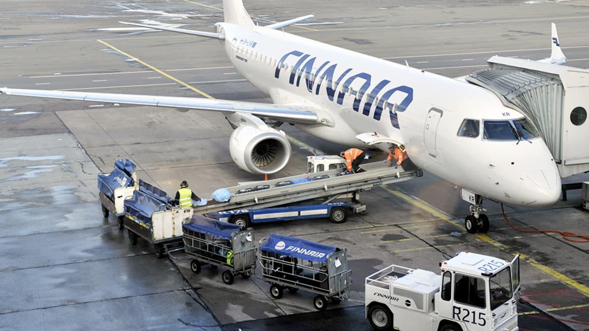saapuvat lennot finnair