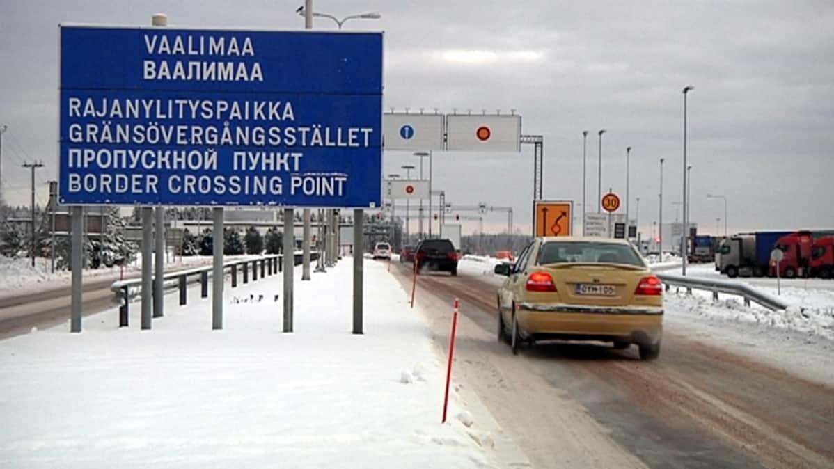 Vaalimaan rajanylityspaikka