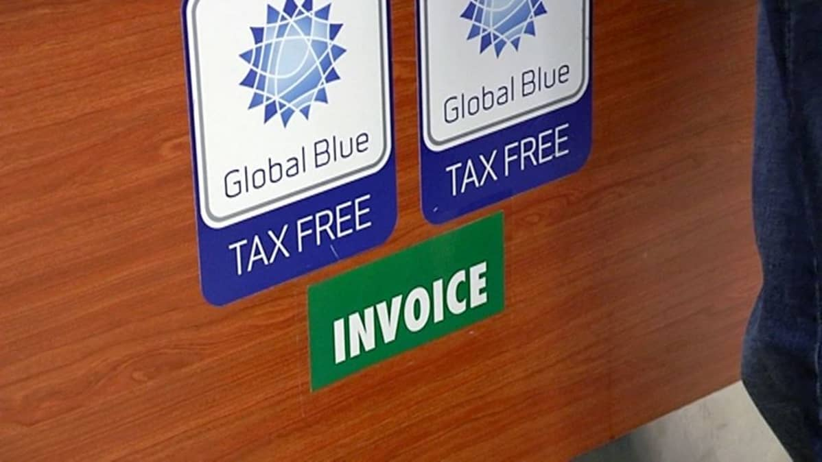 Tax free ja invoice-tarrat.