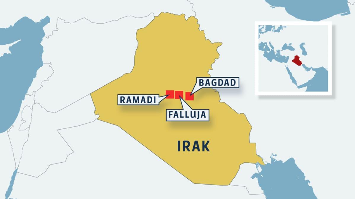 Irak Aloitti Laajan Hyokkayksen Isisia Vastaan Yle Uutiset Yle Fi
