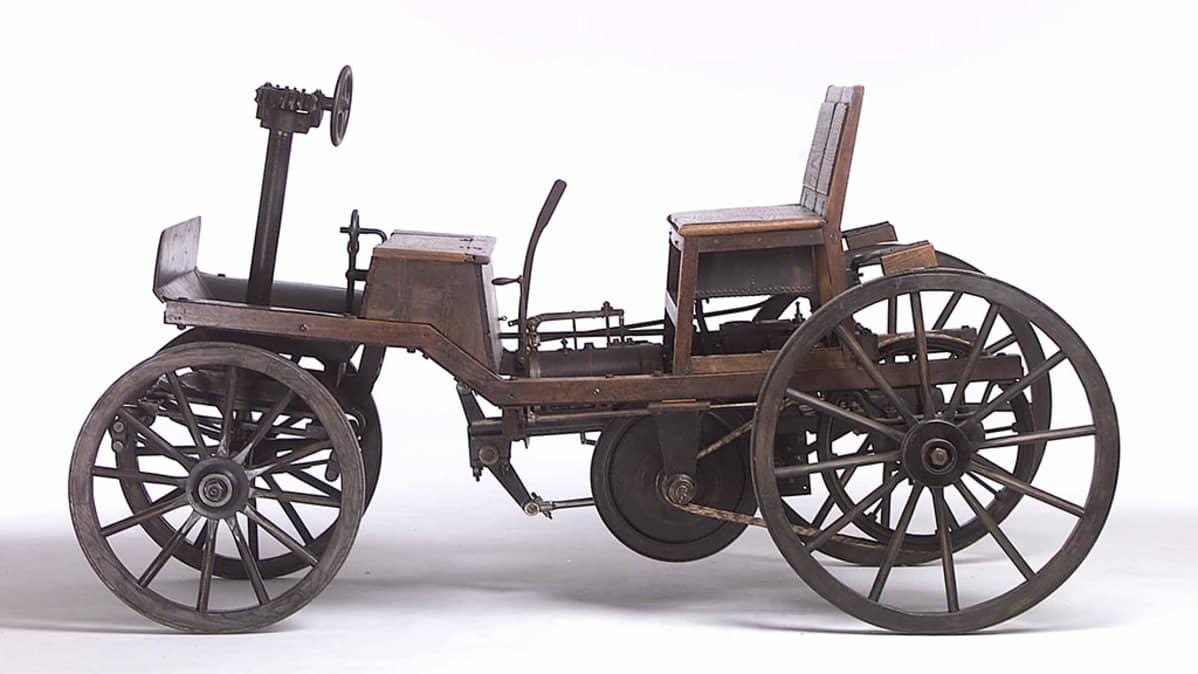 Alkuperäinen toinen Marcus-Wagen on ollut esillä Wienin teknillisesä museossa vuodesta 1918. Se on maailman vanhin ajokuntoinen auto.
