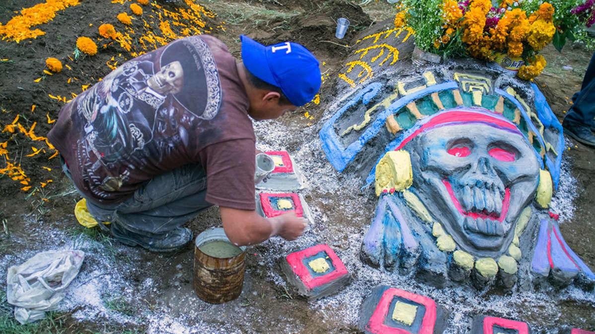 Meksikolainen hauta.