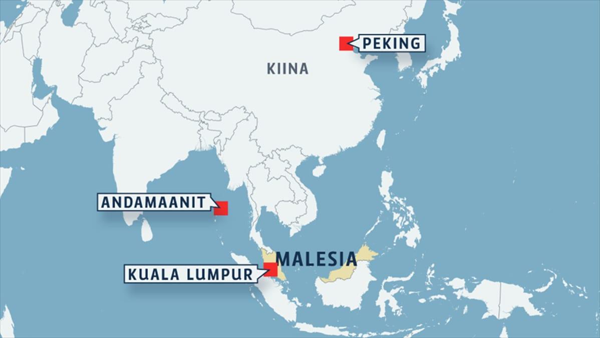 Malesia Mysteerikoneesta Kaappausta Ei Voida Sulkea Pois