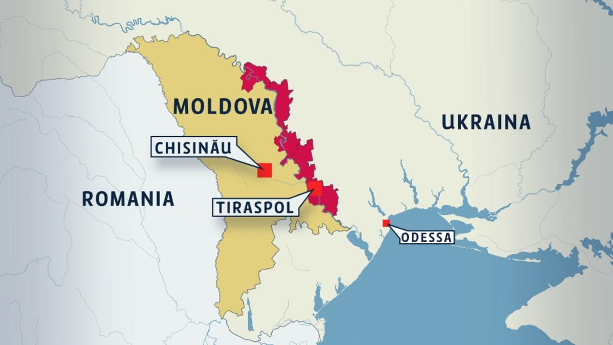 Vedomosti Moldovan Transnistria Haluaa Liittya Venajaan Yle