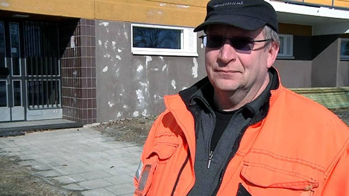 Maalausliike Reijo Kolppanen Ky:n yrittäjä Aarni Kolppanen