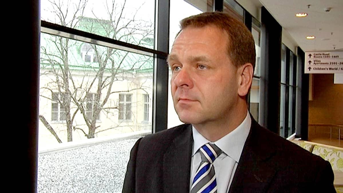 Elinkeinoministeri Jan Vapaavuori
