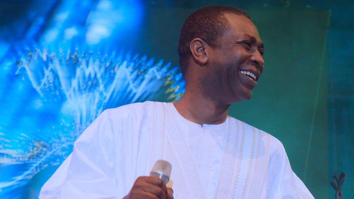 Laulaja Youssou N'Dour