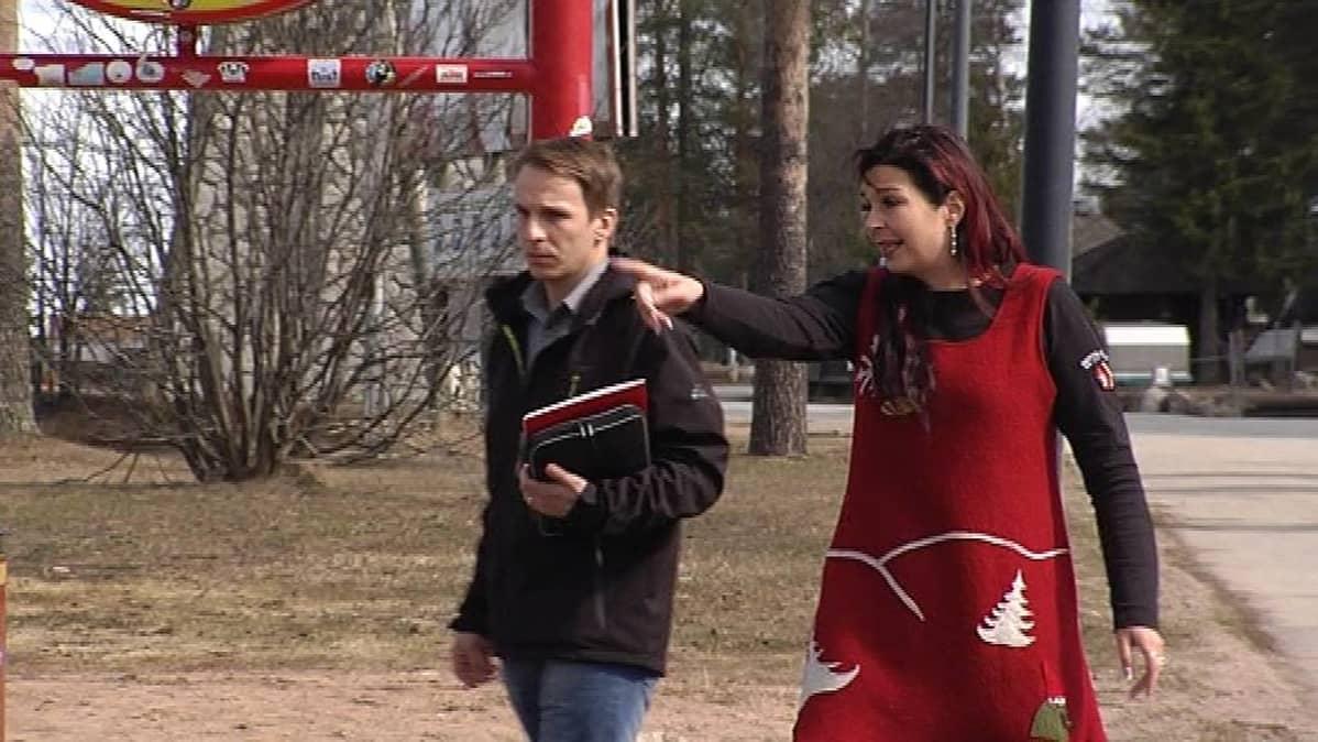Markus Pellikka ja Inga Jääskö