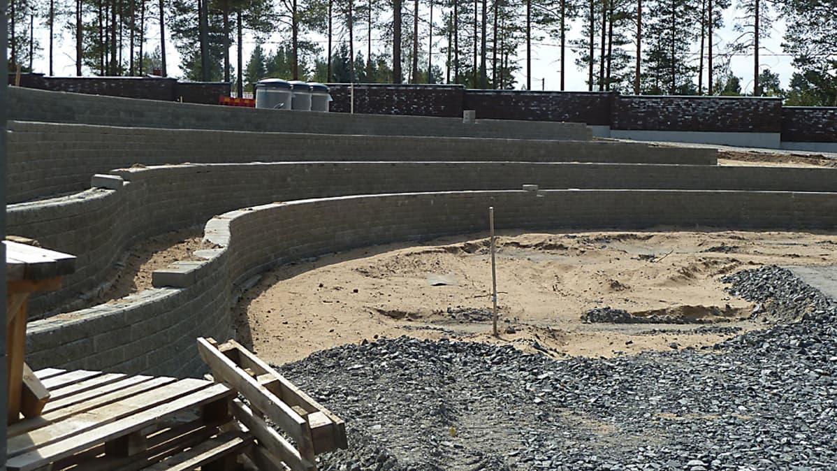 Kempeleen Kokkokankaan uusi hautausmaa.