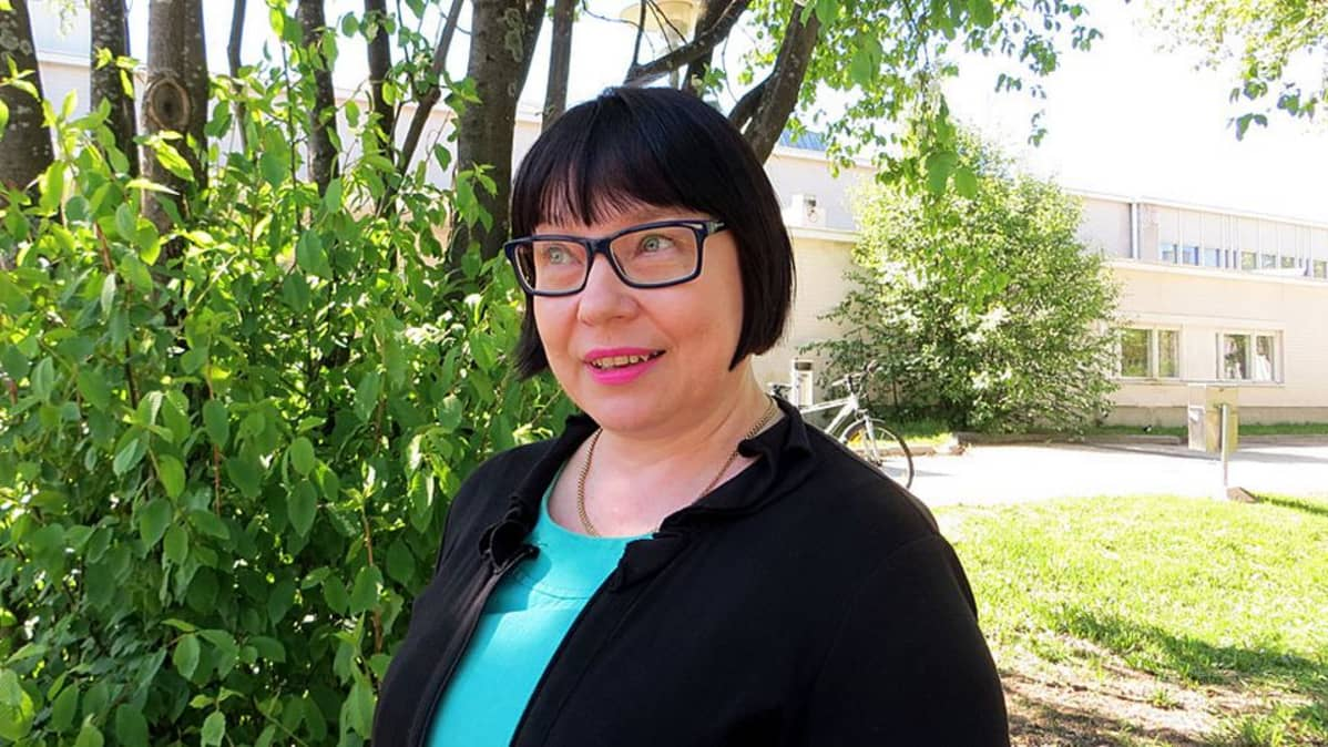 Suomen Kotiseutuliiton toiminnanjohtaja Riitta Vanhatalo