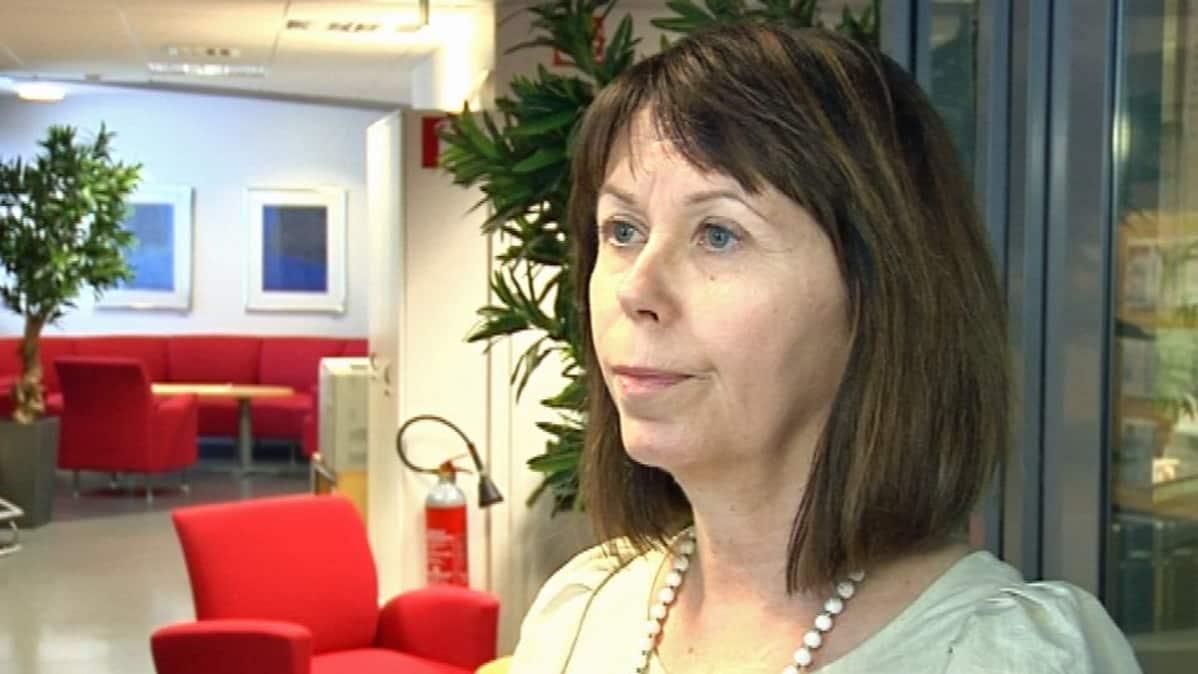 Oululainen kriisipsykologi Soili Poijula.
