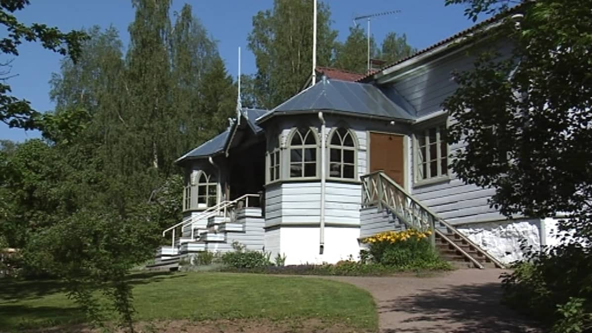 Domanderin talo taidekeskus Salmelassa