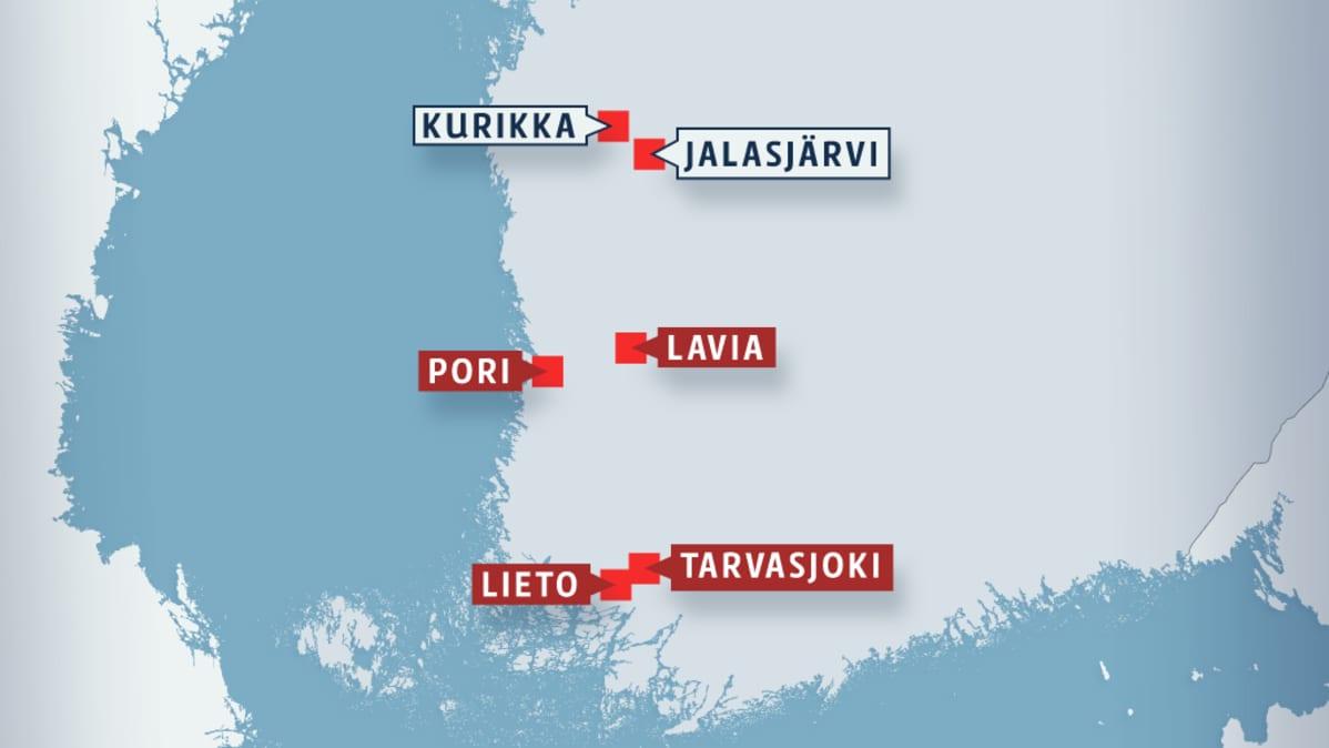 suomalaisen työn liitto kurikka