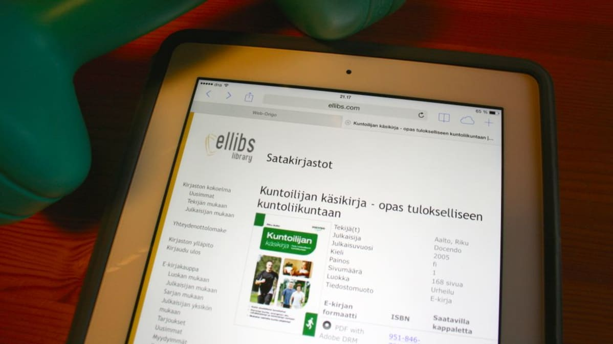 Sähkökirjojen myynti kasvoi alkuvuonna | Kirjojen Suomi | yle.fi