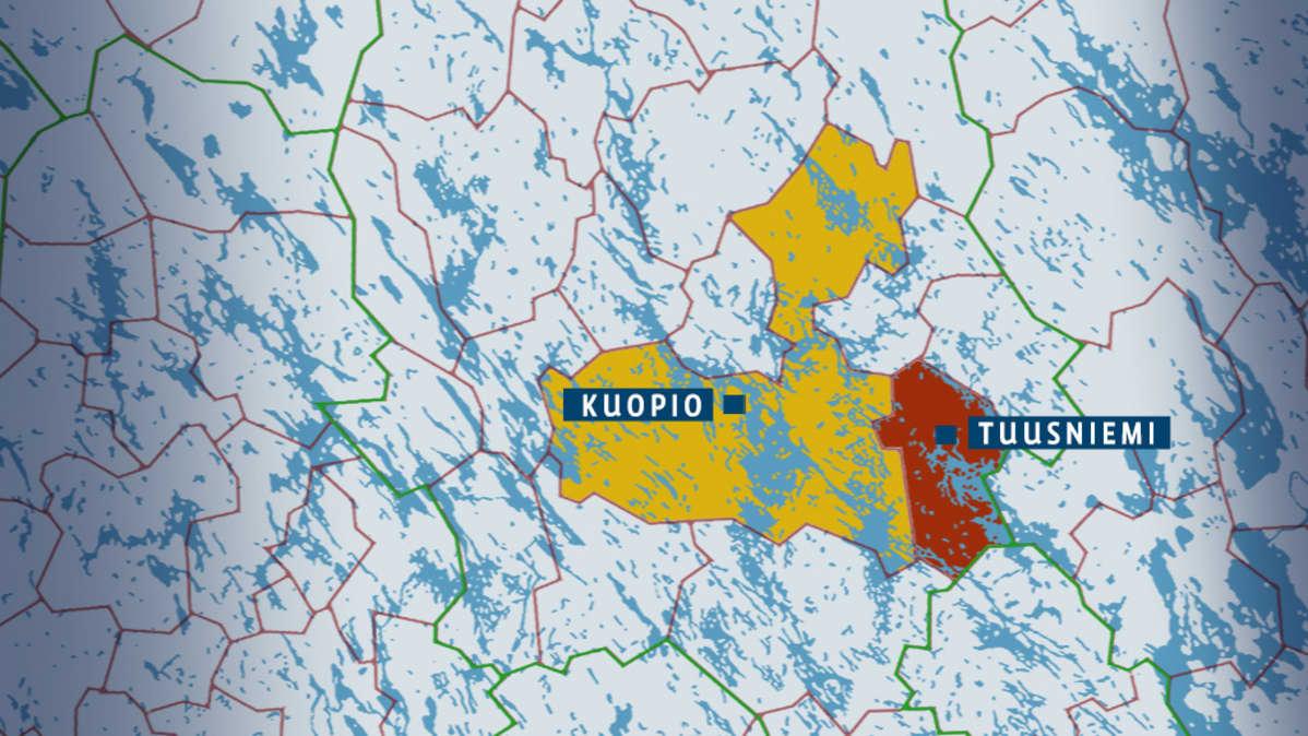 Tuusniemen Kunnanhallitus Antoi Kuopiolle Rukkaset Yle Uutiset
