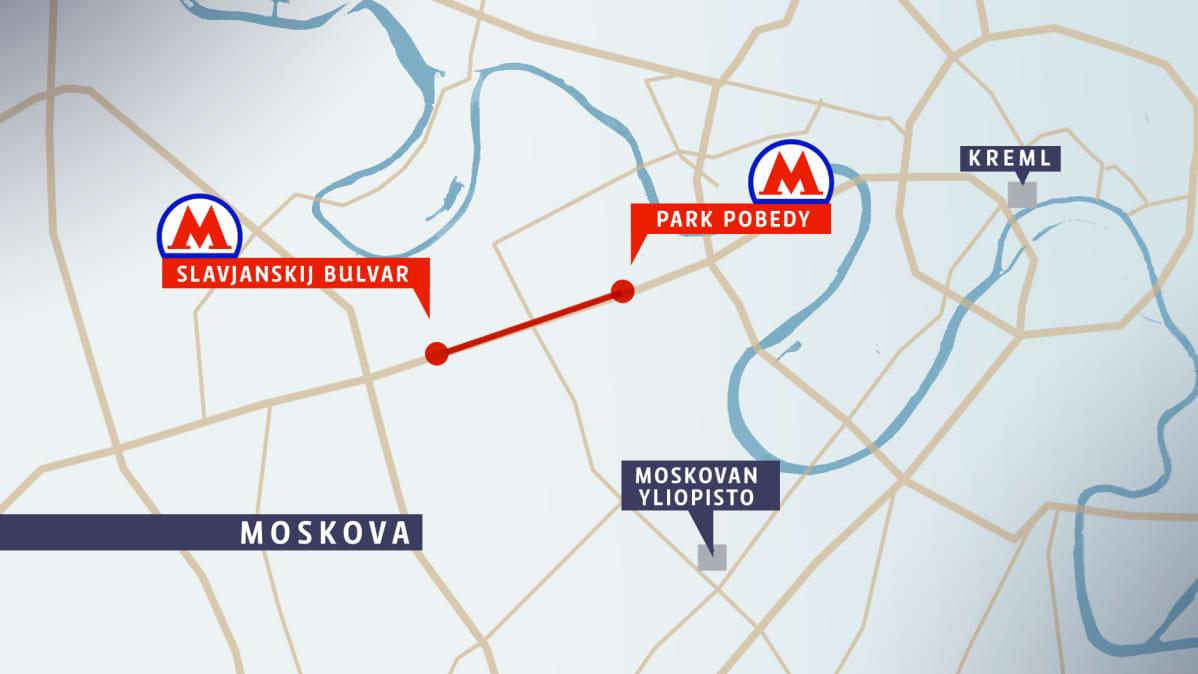 Moskovan Metro Onnettomuuden Uhriluku Nousee Ainakin 20 Kuollut
