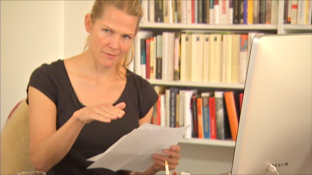 Åsne Seierstad sai Breivikilta kirjeitä pyydettyään tältä haastattelua.