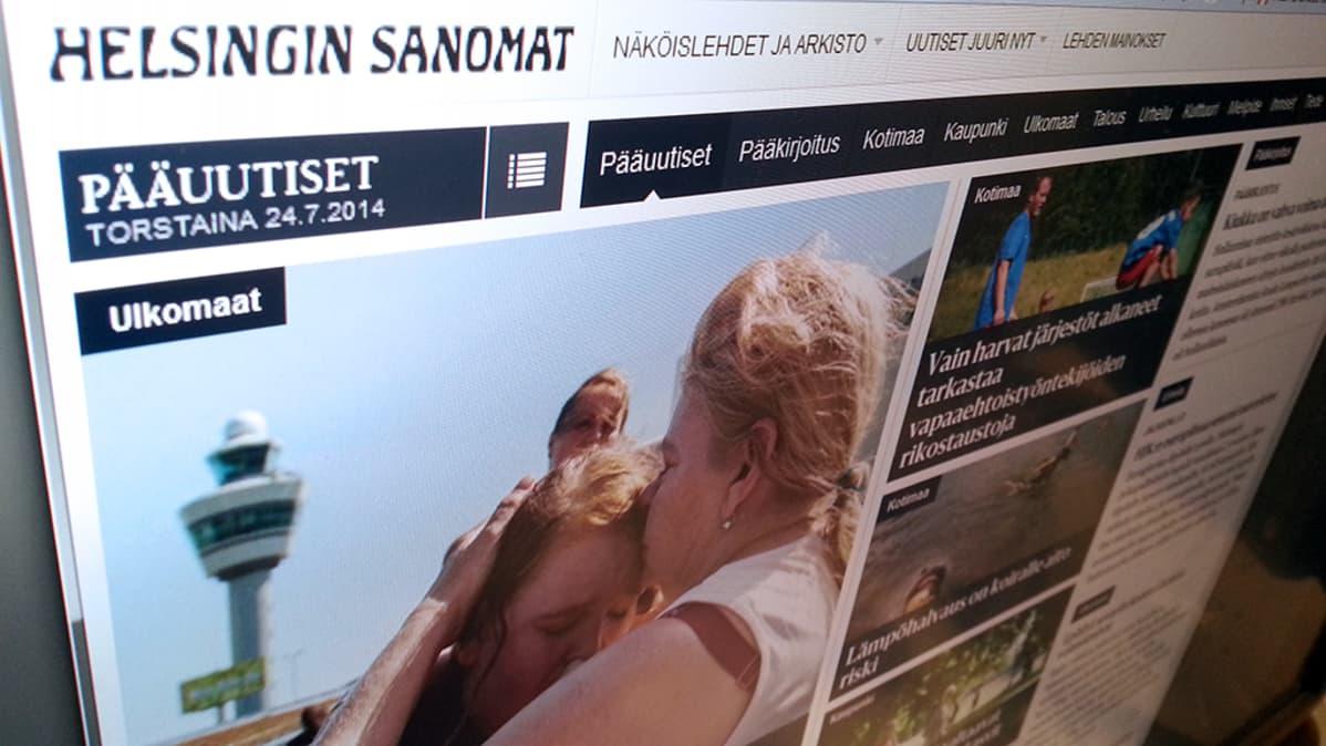 Helsingin Sanomien verkkolehti
