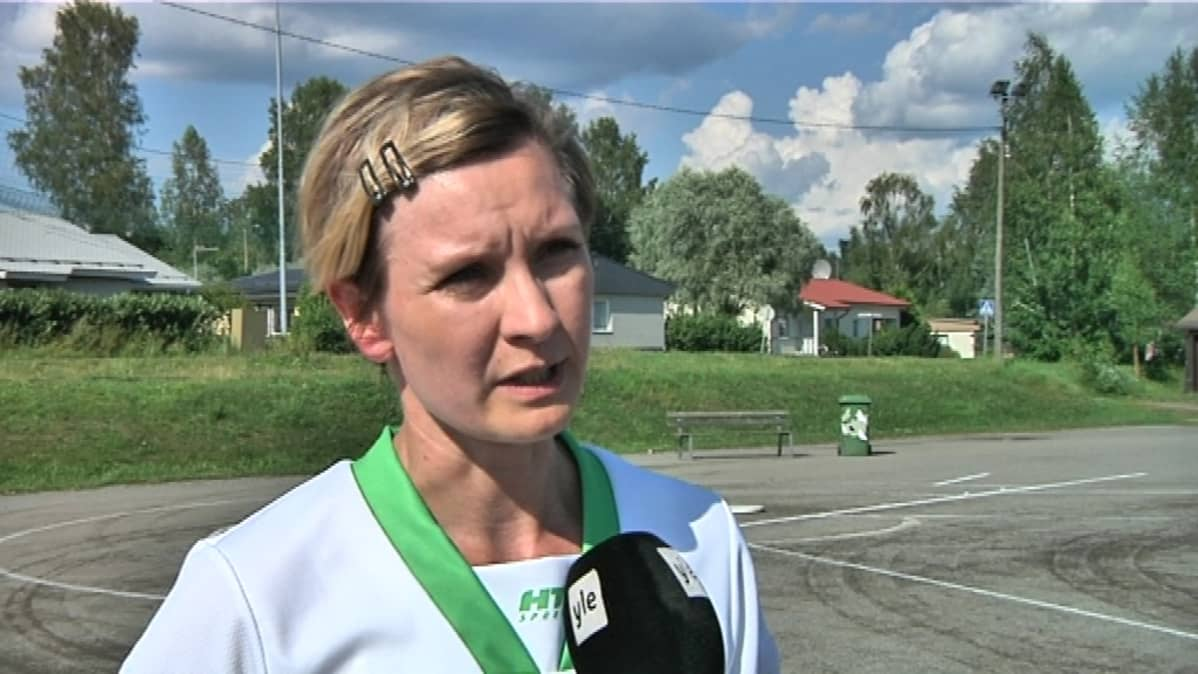 Mikkelin Pallonlyöjien sihteeri Susanna Suvimaa.