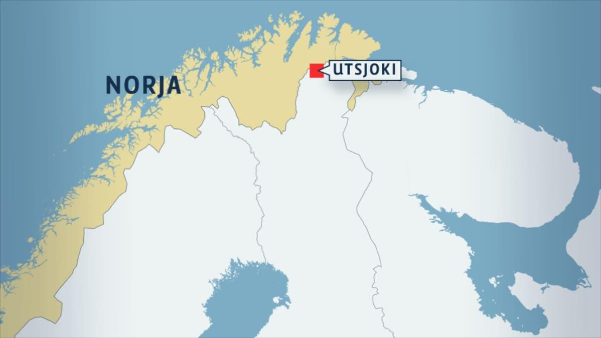 Lk Norjan Poliisin Konepistoolimiehet Kysyvat Papereita Utsjoella