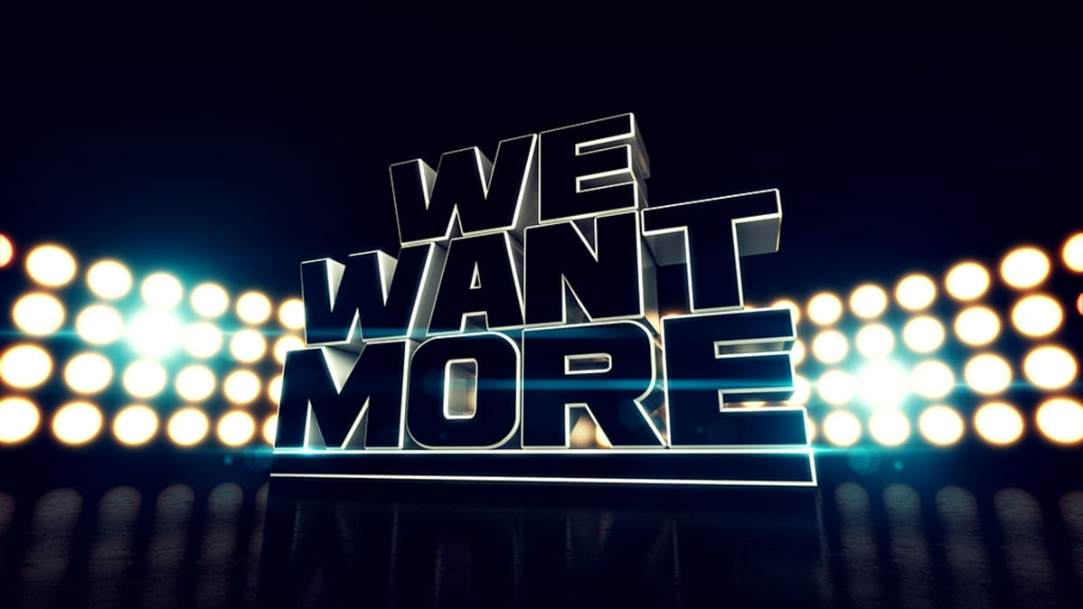 We Want More -logo.