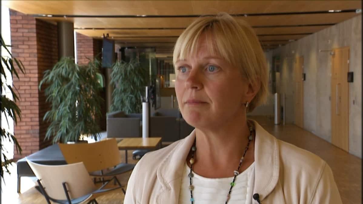 Valviran ryhmäpäällikkö Eeva Saari muistuttaa, että pontikka on väkevä viina ja siihen pätevät väkevän viinan lait.