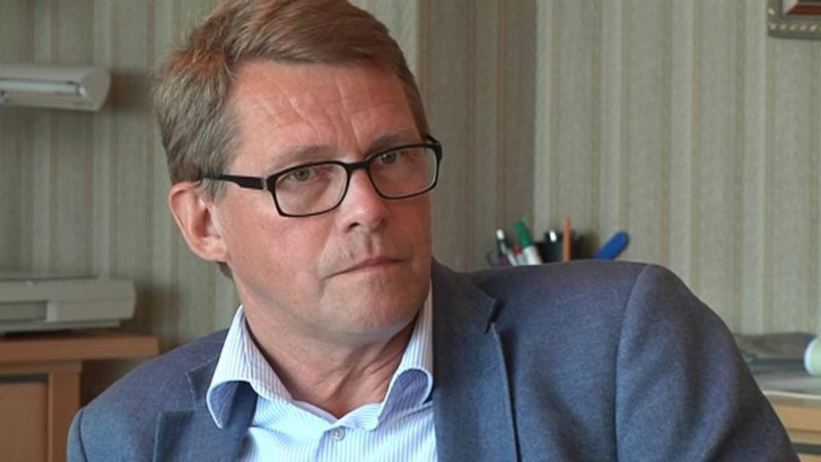 Perheyrittäjien liiton toimitusjohtaja Matti Vanhanen.