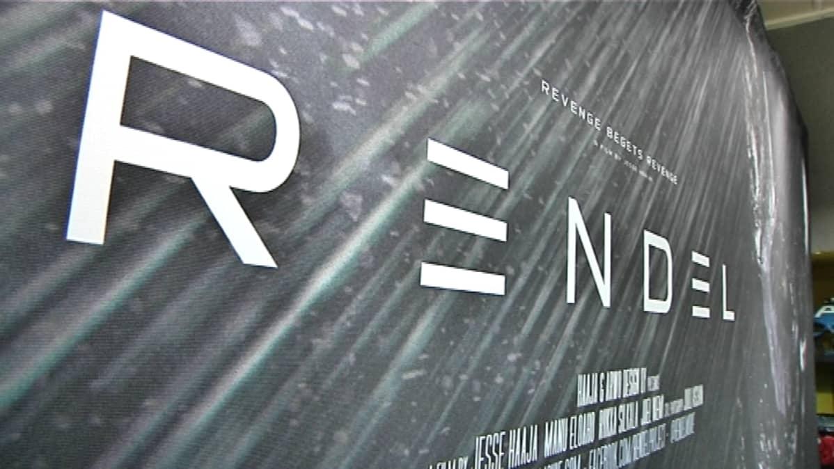 Rendel-elokuvan suuri mainoskangas