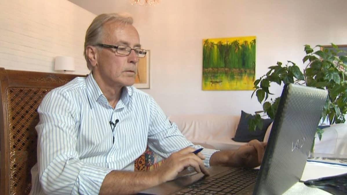 - Tehtäväni oli minimoida konsernin verot, kertoo vastikään eläköitynyt Metson talousjohtaja Reijo Kostiainen.