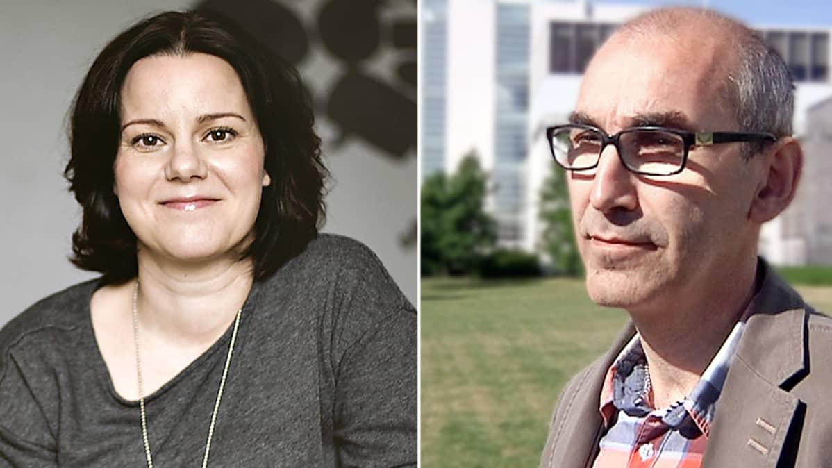 Janna Rantala ja Juha Hakala.