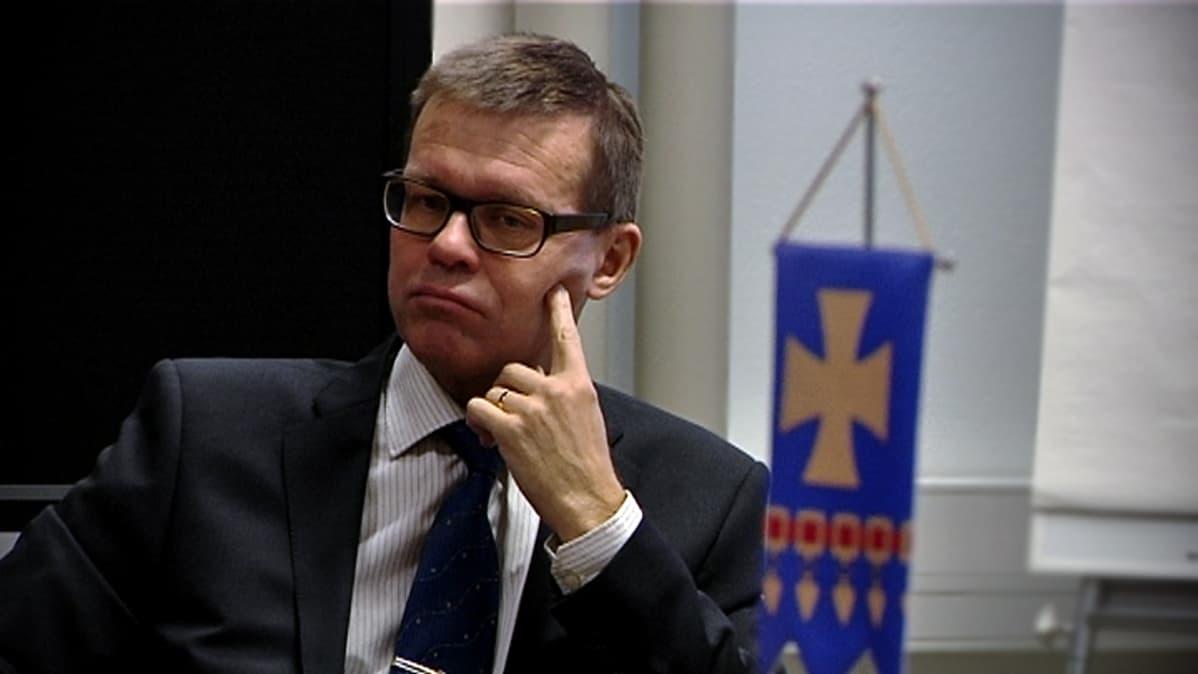 Kauhavan kaupunginjohtaja Markku Lumio.