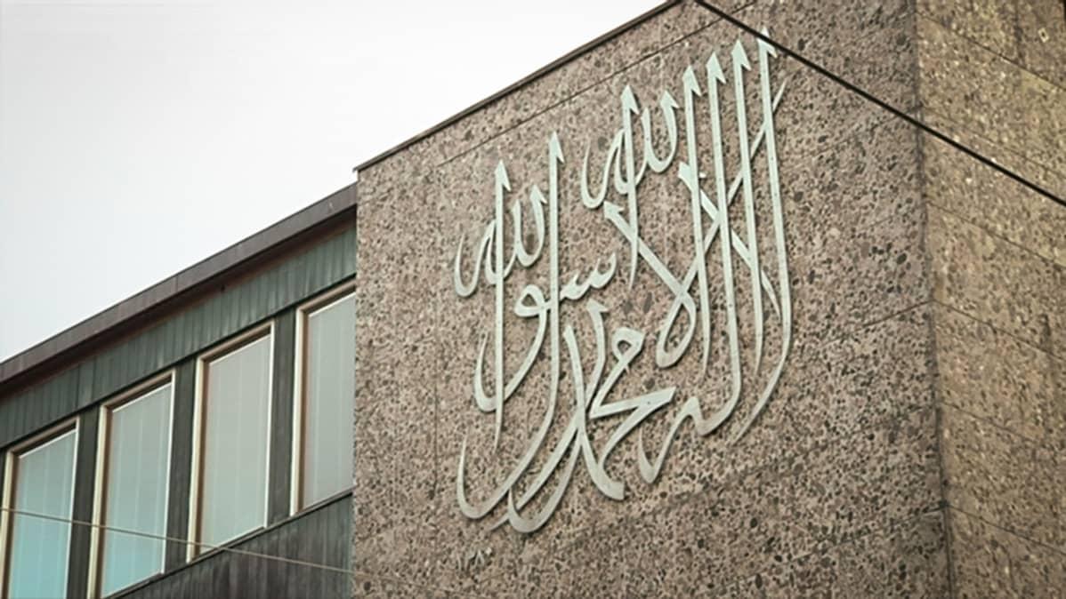 Suomen Islam-seurakunnan rakennus Helsingissä.