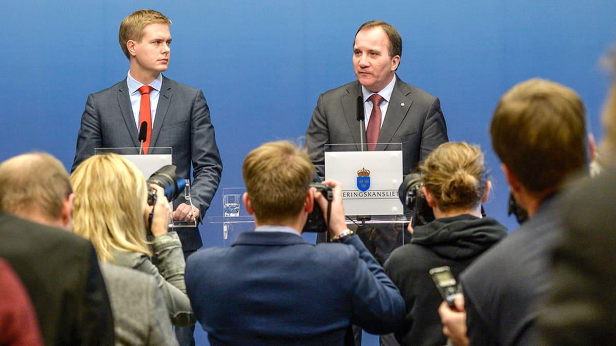 Ruotsi hallitus.