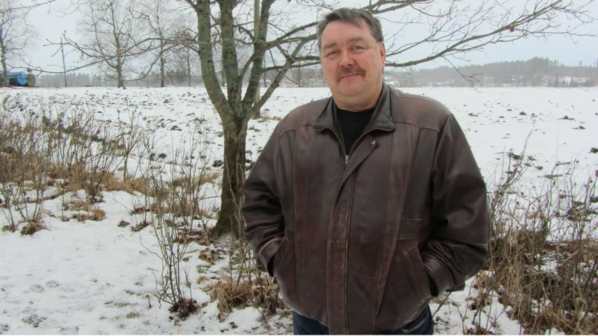 Kimmo Jokiranta on maanviljelijä ja kaupunginvaltuutettu Kouvolassa
