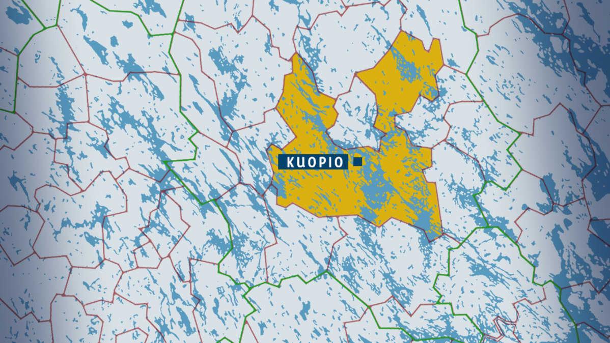 Maaninka Yhdistyy Kuopioon Kuopio Nousee Suomen Suurimmaksi