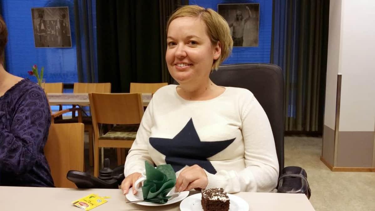 Matkabloggaaja Sanna Kalmari