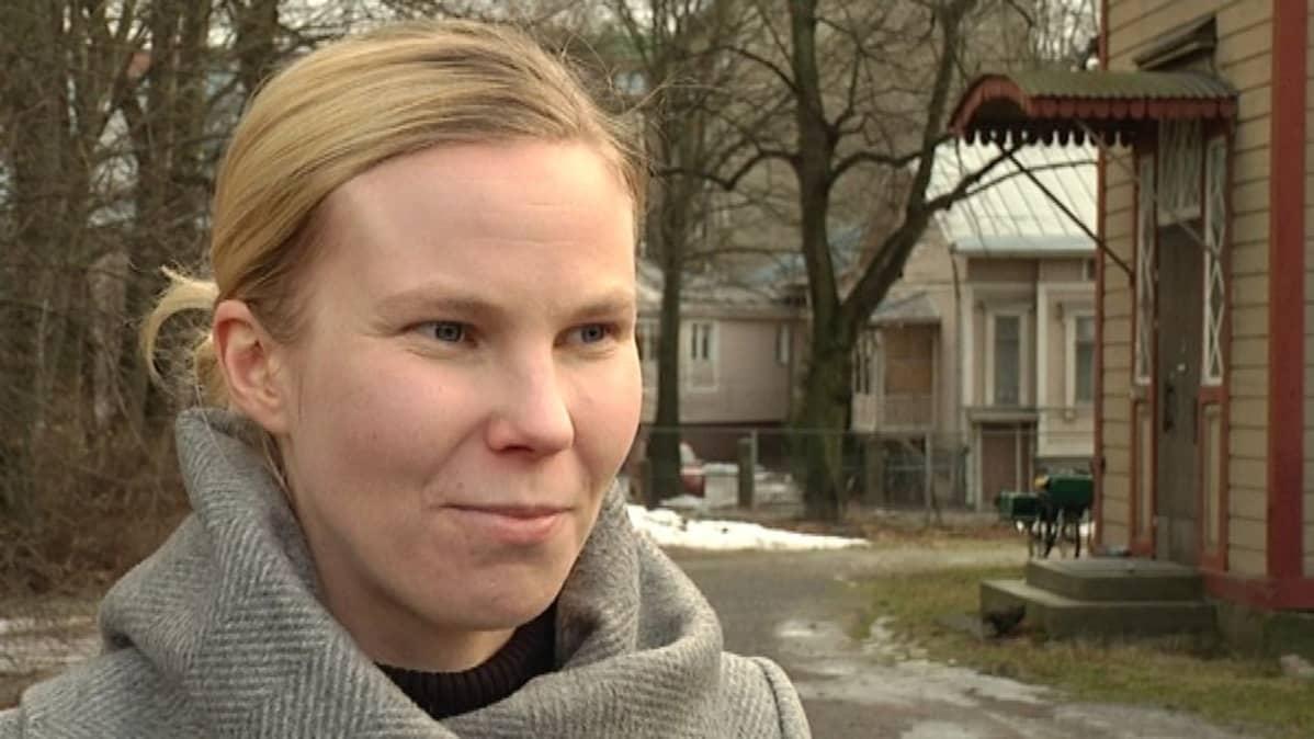 Arkkitehti ja asuinyhteisövalmentaja Johanna Kerovuori
