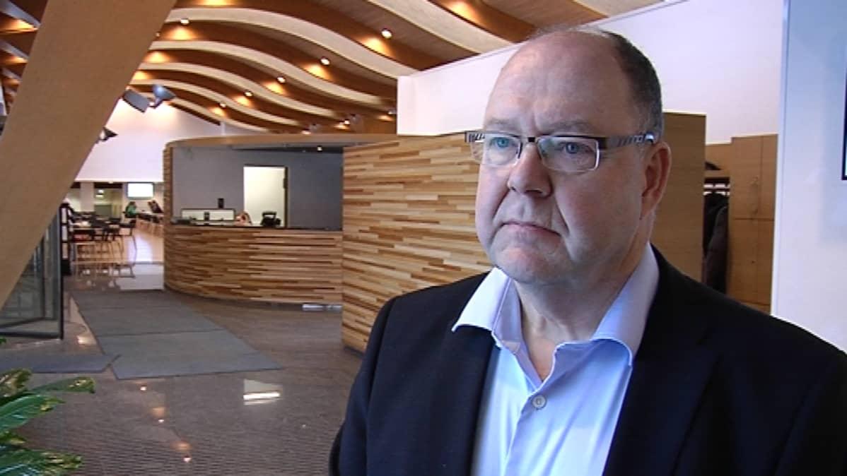 Metsä Fibren biotuotetehdas -hankkeen projektijohtaja Timo Merikallio.