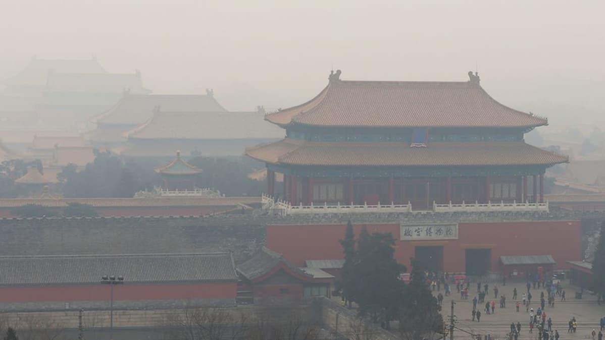 Peking ilmansaasteet.