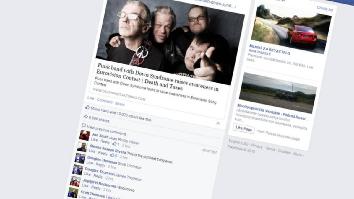 Pertti Kurikan Nimipäivät on kerännyt laajalti huomiota esimerkiksi sosiaalisessa mediassa.