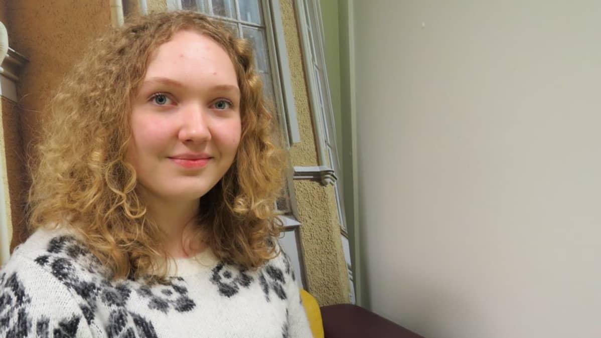 Hanna Lehmonen on Suomen Juvenes Translatores kääntäjä.