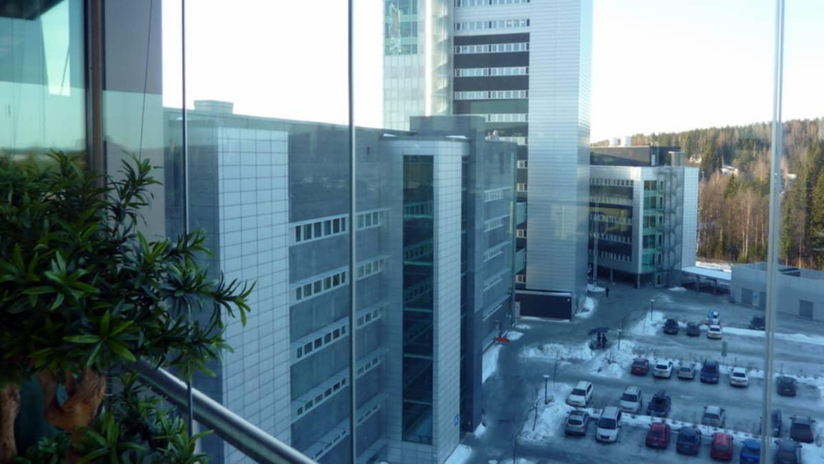 Näkymä Technopoliksen tornista.