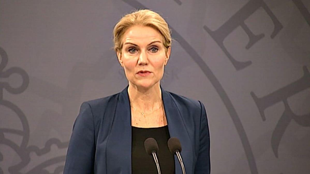 Pääministeri Helle Thorning-Schmidt.