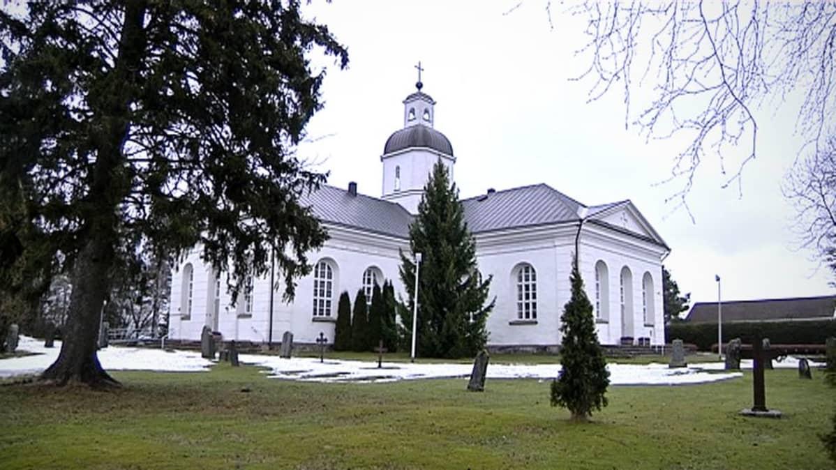 Vähänkyrön kirkko.