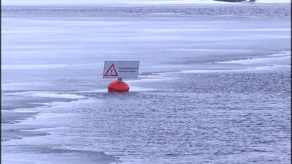 Kivisalmen pumppaamo heikentää jäätä