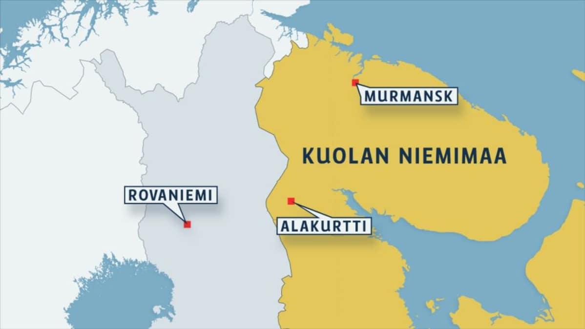 Suomi Tarkastaa Alakurtin Sotilastukikohdan Yle Uutiset Yle Fi