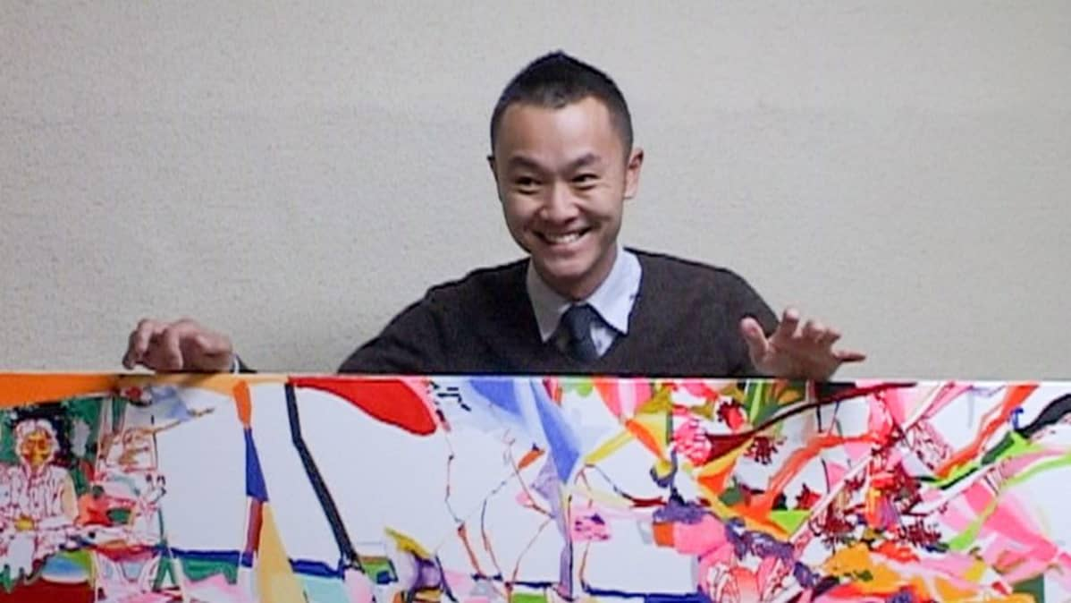 Kazuya Taoka ja maalaus